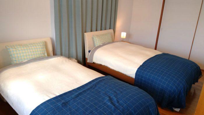 ゲストハウスまある寝室