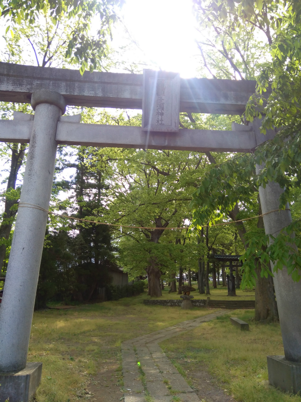 逢瀬神社の鳥居