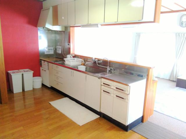 ゲストハウスまあるのキッチン流し台