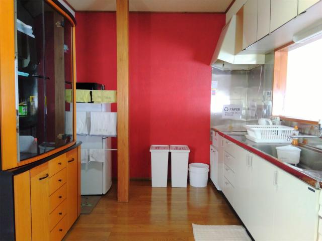 ゲストハウスまあるのキッチン