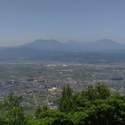 雁田山からの絶景