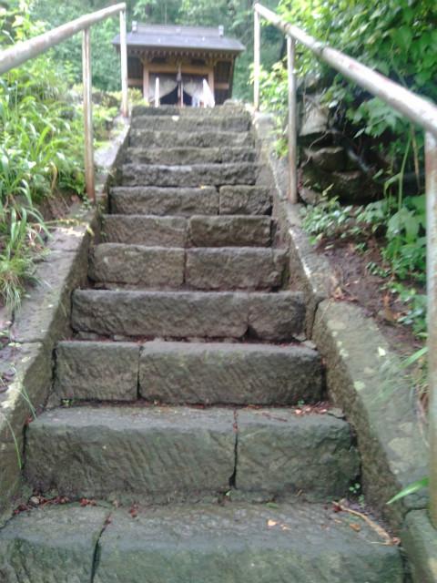 釜上地蔵階段